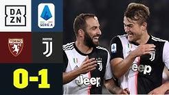 Matthijs de Ligt schießt Juve mit Debüt-Tor zum Derbysieg: FC Turin - Juventus 0:1   Serie A   DAZN