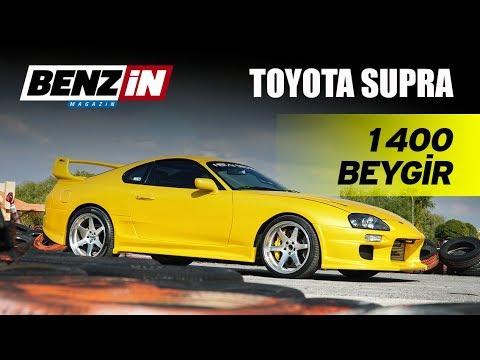 Toyota Supra 1400 hp // 100 Oktan