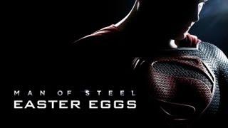 MAN OF STEEL EASTER EGGS