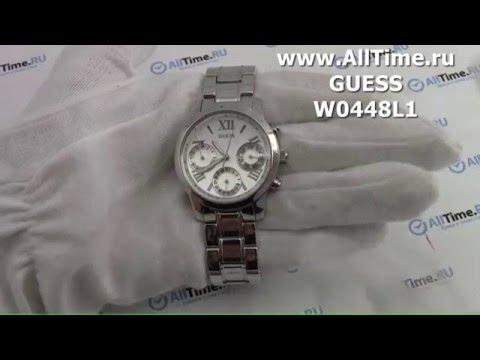 Обзор. Женские наручные часы Guess W0448L1