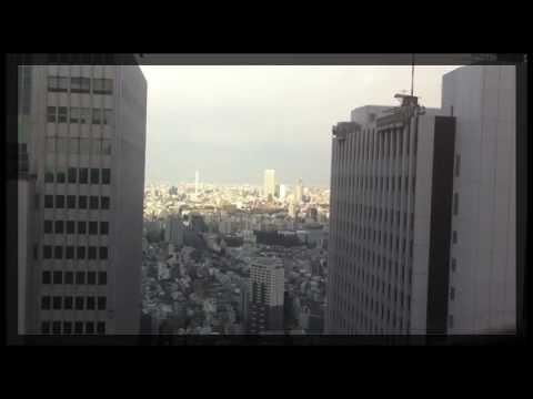 Earthquake in Tokyo Japan (Sinjyuku center buillding)