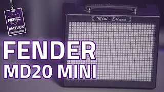 Fender MD 20 Mini Deluxe EXP II Amp Review - Classic Desktop Amp