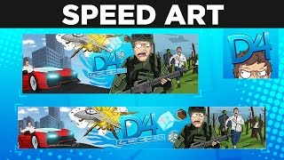 New Re-Brand for @TheDeluxe4 - Time-lapse by BTR Designs