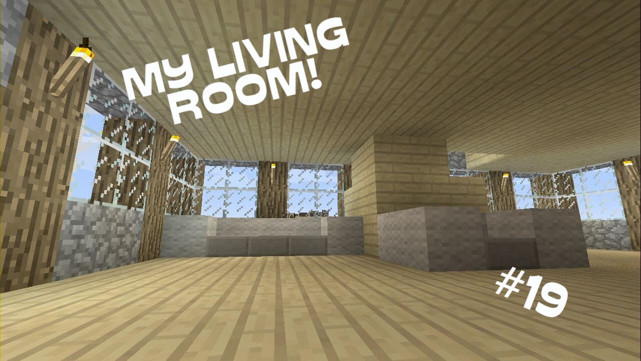 Minecraft xbox 360 my living room 19 youtube for Minecraft living room ideas xbox