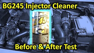 Will BG245 clean the injectors in 1.6HDi?