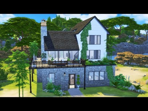 Island Living   Speed Build   The Sims 4 CC
