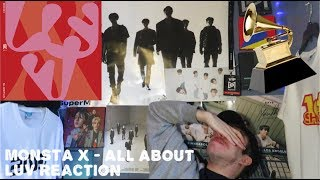 MONSTA X ALL ABOUT LUV Album Reaction
