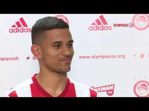 Ο Ιγκόρ Σίλβα στον Ολυμπιακό  Igor Silva joins Olympiacos