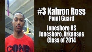 2012 Kahron Ross Junior Year Basketball Highlight Film Recruiting Tape