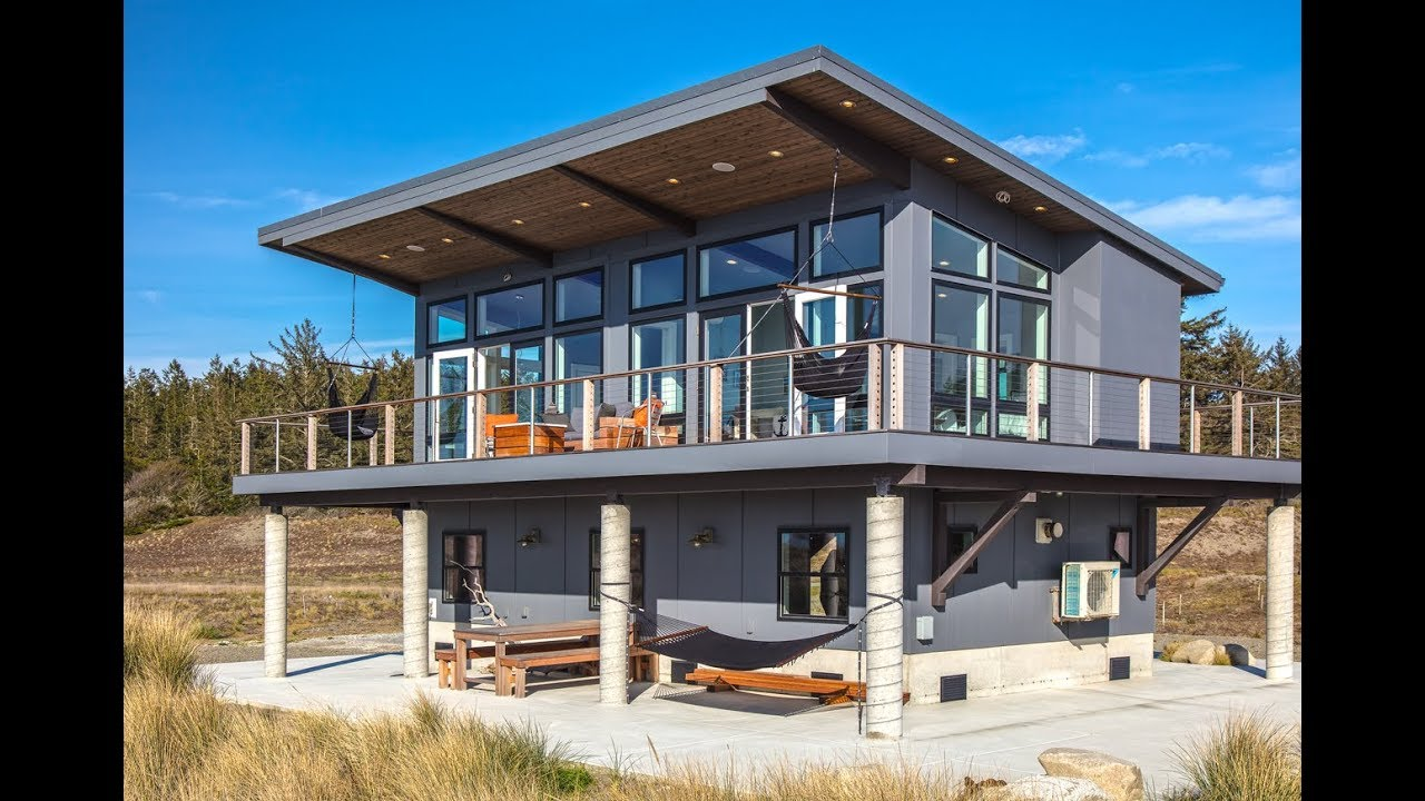 Dream Beach House On Whidbey Island Youtube