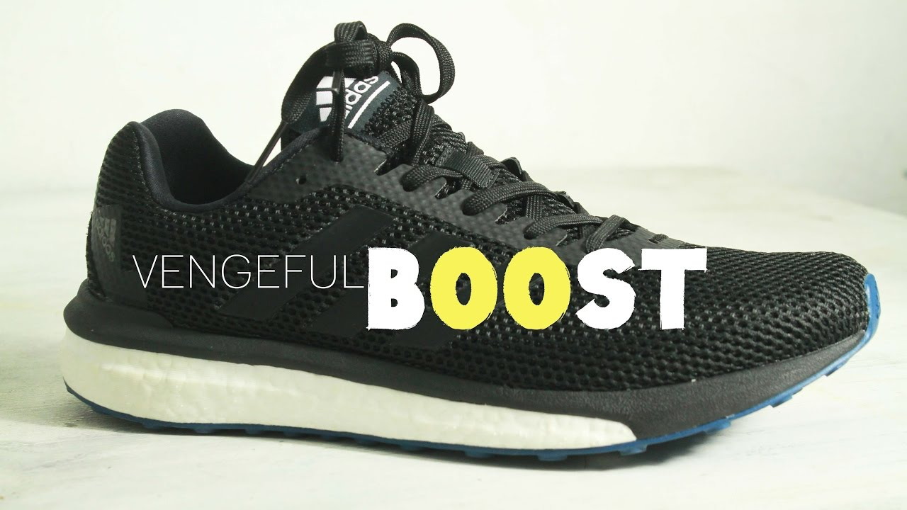 the best attitude d3819 39d40 ADIDAS BOOST VENGEFUL Review: Best Running Shoe for 2017 ($106)