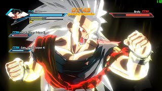 Dragon Ball Xenoverse PC (144 FPS) Super Saiyan 5 Goku Gameplay