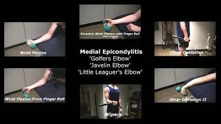 Medial Epicondylitis Rehab Exercises