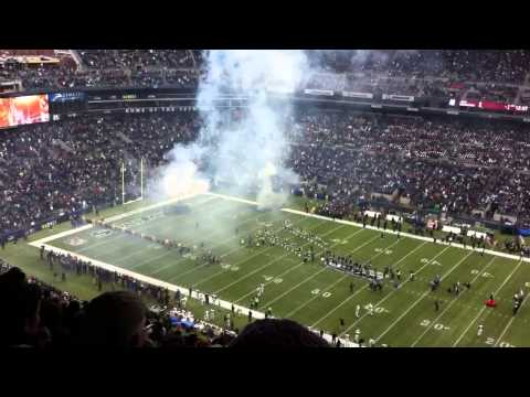 Seattle Seahawks introductions @ Centurylink Field