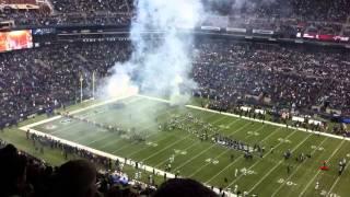 Seattle Seahawks introductions @ Centurylink Field