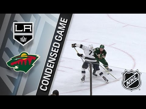 Los Angeles Kings vs Minnesota Wild March 19, 2018 HIGHLIGHTS HD