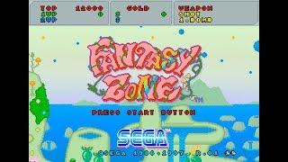 Saturn Longplay [090] Sega Ages: Fantasy Zone