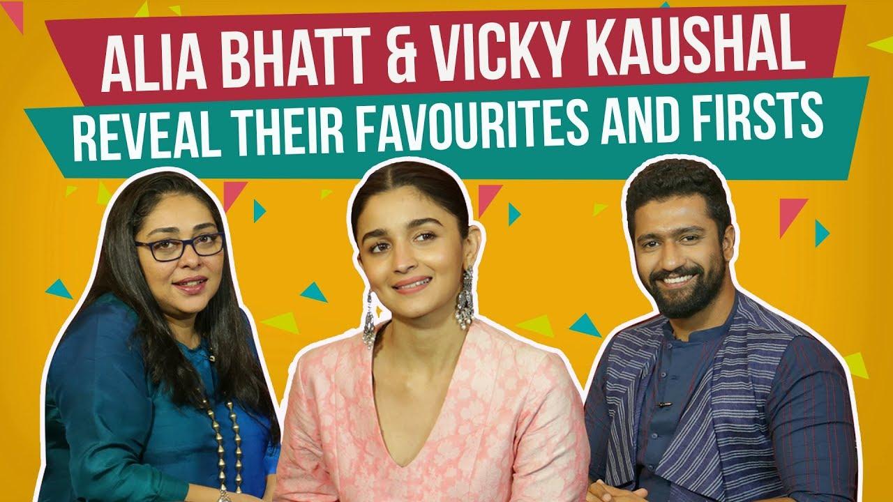 Alia Bhatt & Vicky Kaushal reveal their favourites and firsts   Raazi   Pinkvilla