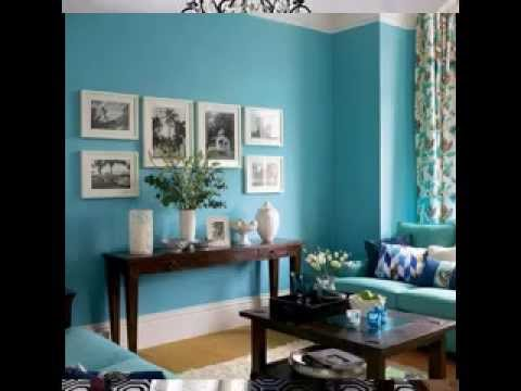 Teal and brown bedroom decorating ideas  YouTube