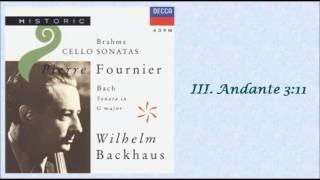BACH: Viola da Gamba Sonata No. 1 in G major BWV 1027