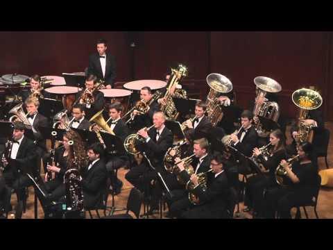 UMich Symphony Band -Eric Whitacre - Sleep