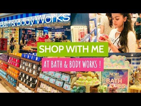 SHOP WITH ME AT BATH & BODY WORKS + HAUL   BATH & BODY WORKS INDIA