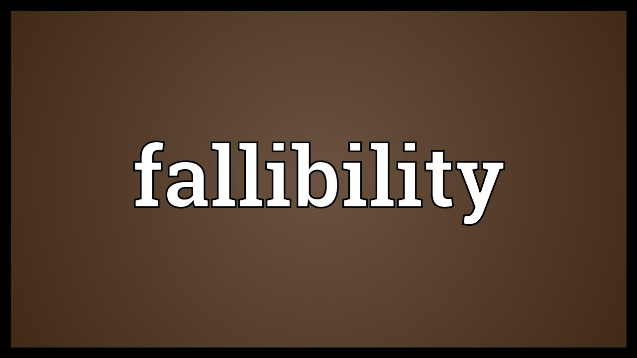 Charming Fallibility Meaning