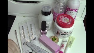 My Nail Care Essentials-Topic Tuesday
