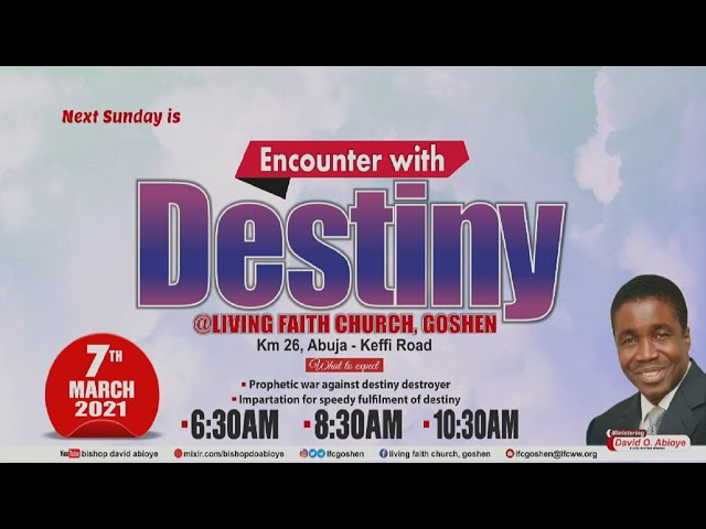 ENGAGING BIBLICAL WISDOM FOR ALL ROUND BREAKTHROUGH PT. 1A | 1ST SERVICE | MARCH 07, 2021