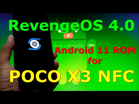 RevengeOS 4.0 Official for Poco X3 NFC (Surya) Android 11