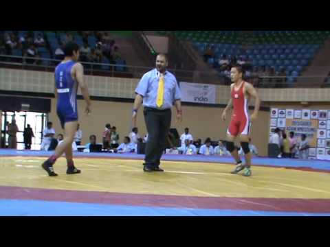 Araki from Japan Vs Abdullaev from UZB 2