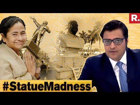 Left Vs Right: Mamata Banerjee The Beneficiary? #StatueMadness | The Debate With Arnab Goswami