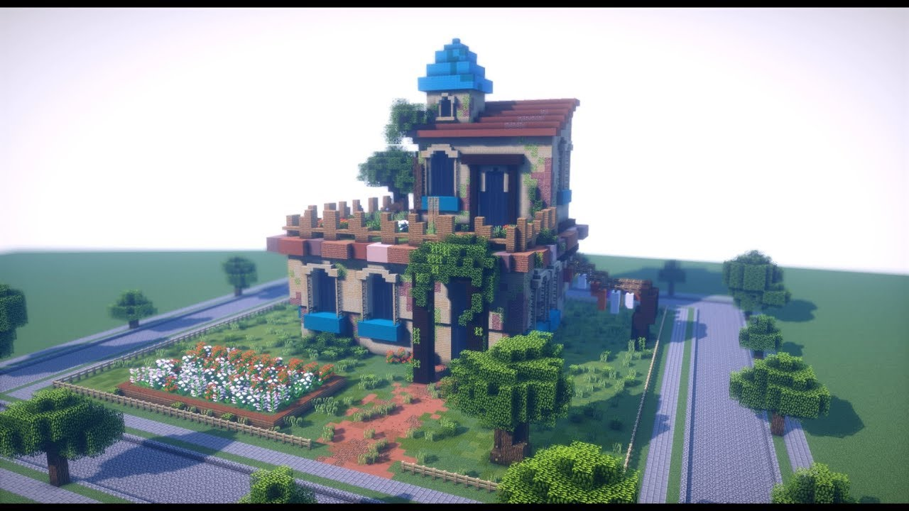 Minecraft Timelapse House Pmc Contest Entry Youtube