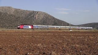 Trains Between Sfigga and Aliartos, Viotia Perfecture.(19/01/2014)