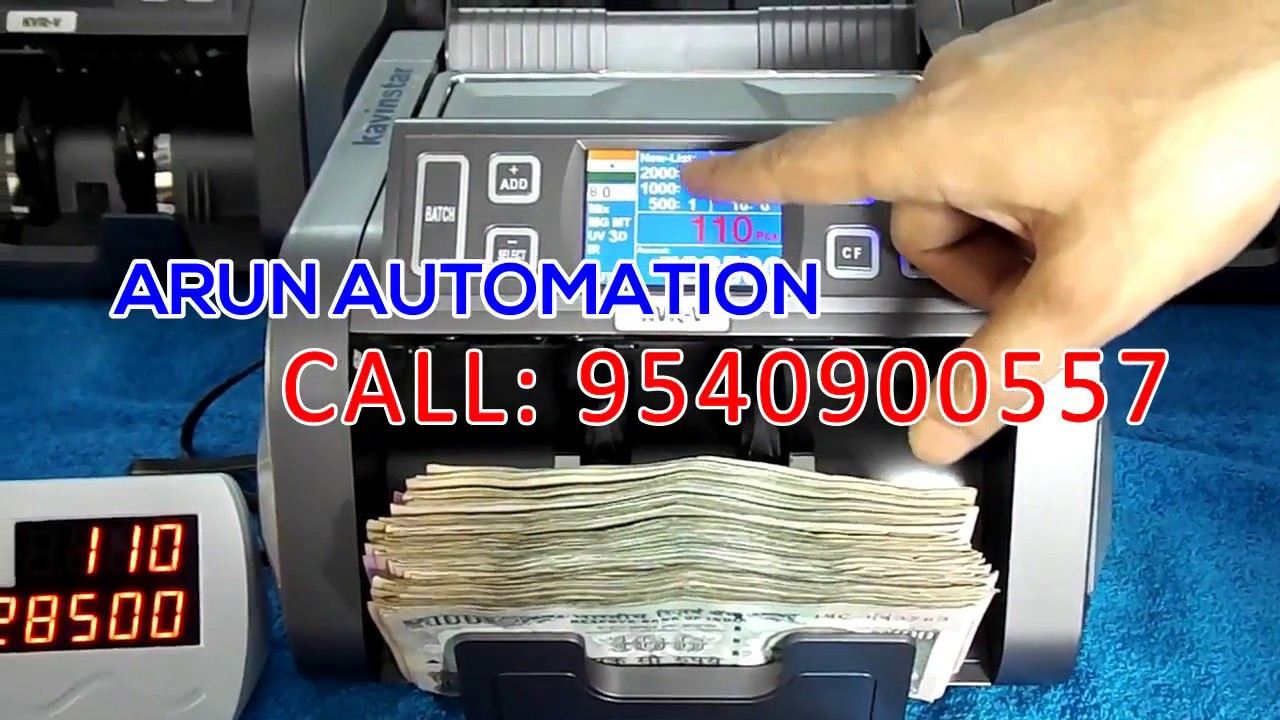 value counting machine