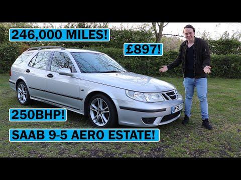 My £897 246,000 Mile Saab 9-5 Aero Review!