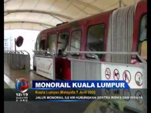 Monorail Sukses Atasi Macet di Malaysia