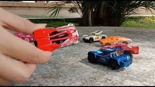 Belajar Mengenal warna mobil Hot Wheels dalam bahasa Inggris