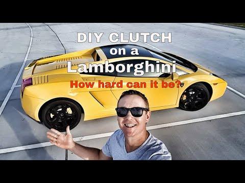 DIY Lamborghini Clutch – How hard can it be?