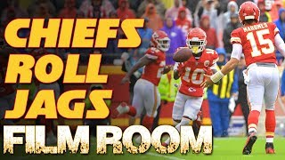Film room: Kansas City Chiefs Balance Tops Jaguars | Patrick Mahomes Travis Kelce Kareem Hunt | NFL