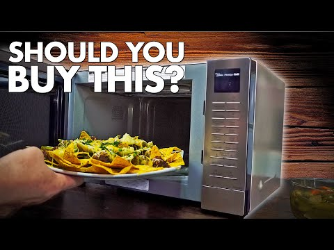 Unbox and Review of the Panasonic Convection Grill/Microwave Oven - Should you buy it?