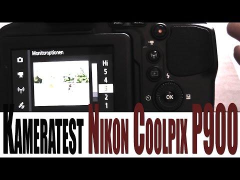Nikon Coolpix P 900 Bridge Kamera hands-on Test (german) (deutsch)