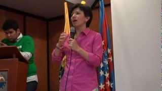 Claudia López en la Universidad del Magdalena (Primera Parte)