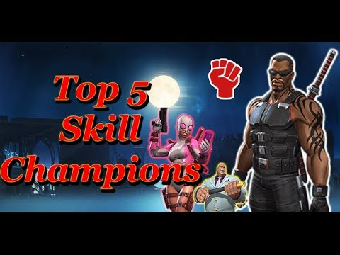 Mcoc Best 5* Champs 2020 Best 5 Skill Champions You Should Upgrade | 2018| Marvel Contest