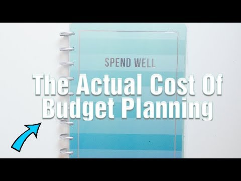 The Actual Cost Of Budget Planning 🤔