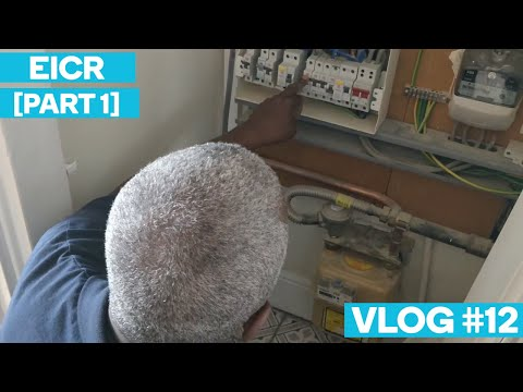 EICR [Part 1] (Picking Up After Customer/Tradesman Dispute) - Electrician In London Vlog #12
