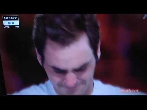 Federer emotional after 20th grandslam win