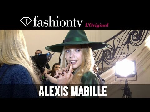 Alexis Mabille Fall/Winter 2014-15 Backstage | Paris Fashion Week PFW | FashionTV