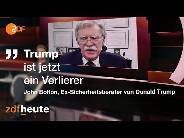 USA: Ein neuer und ein noch amtierender Präsident   Markus Lanz vom 11. November 2020