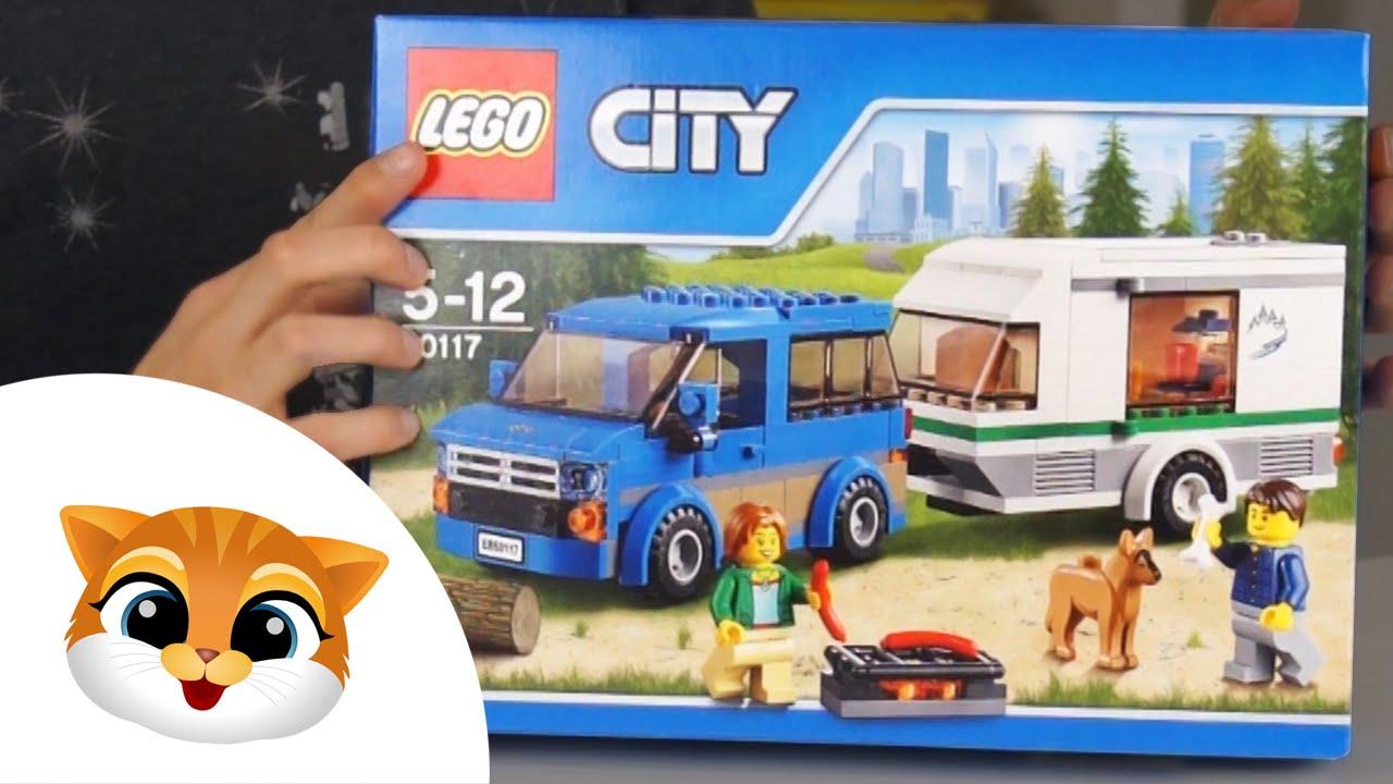 Lego City 60117 Camping Samochód Z Przyczepą Youtube